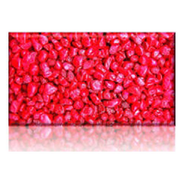 Aps Coloured Gravel 6mm Red 10kg Newcraft