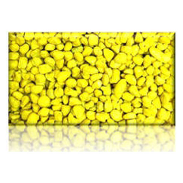 Aps Coloured Gravel 6mm Yellow 600g Newcraft