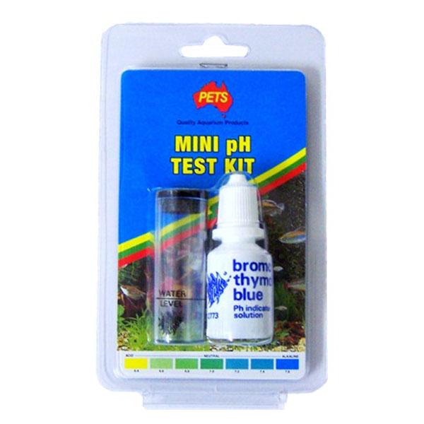 Aps aquarium ph test kit mini newcraft for Fish tank test kit